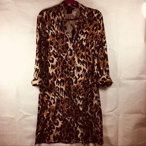 INC International Concepts Leopard Dress